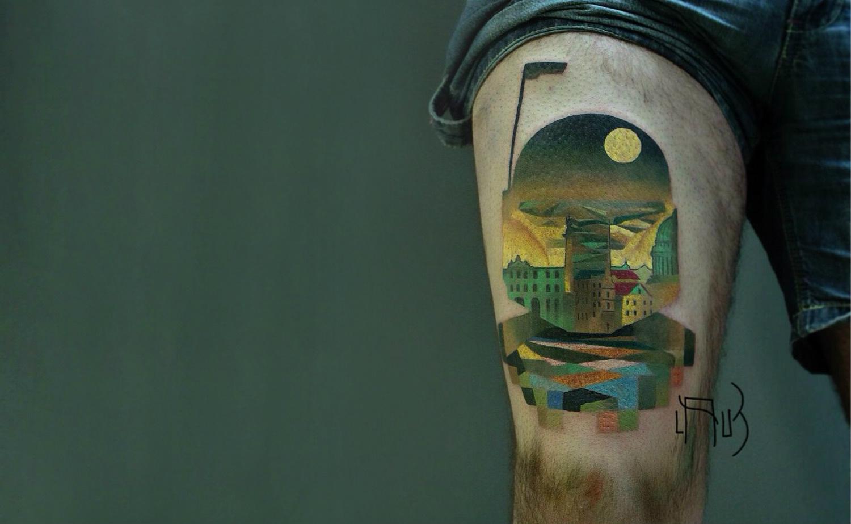 Lesha Lauz Boba Fett tattoo