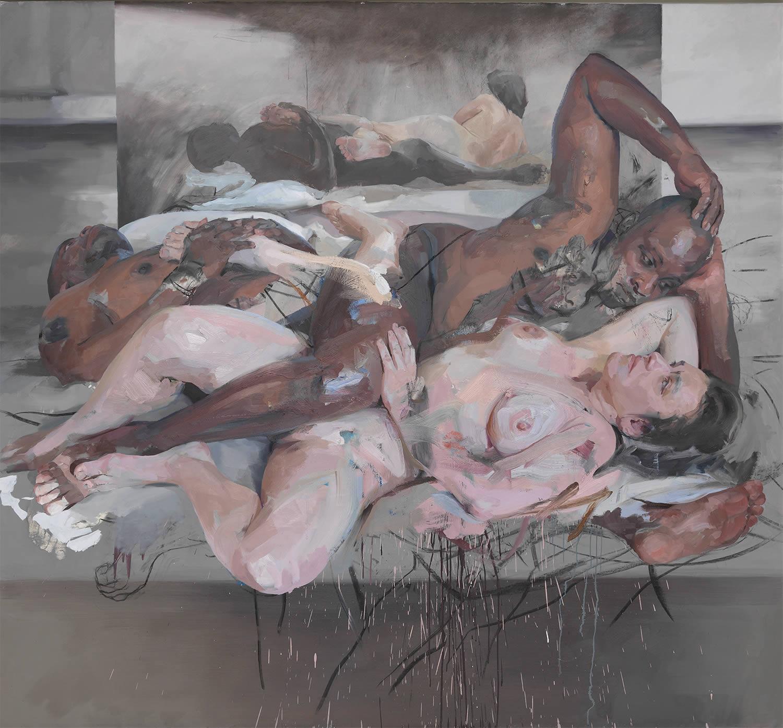 "Jenny Saville ""Odalisque"" 2014"
