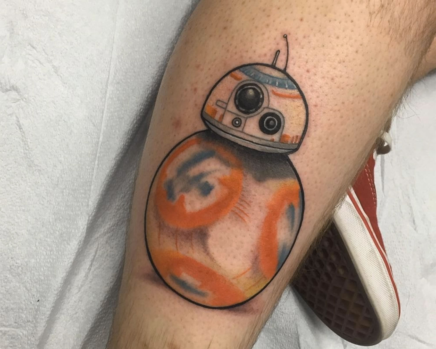 droid, force awakens, tattoo by Tyler Nealeigh