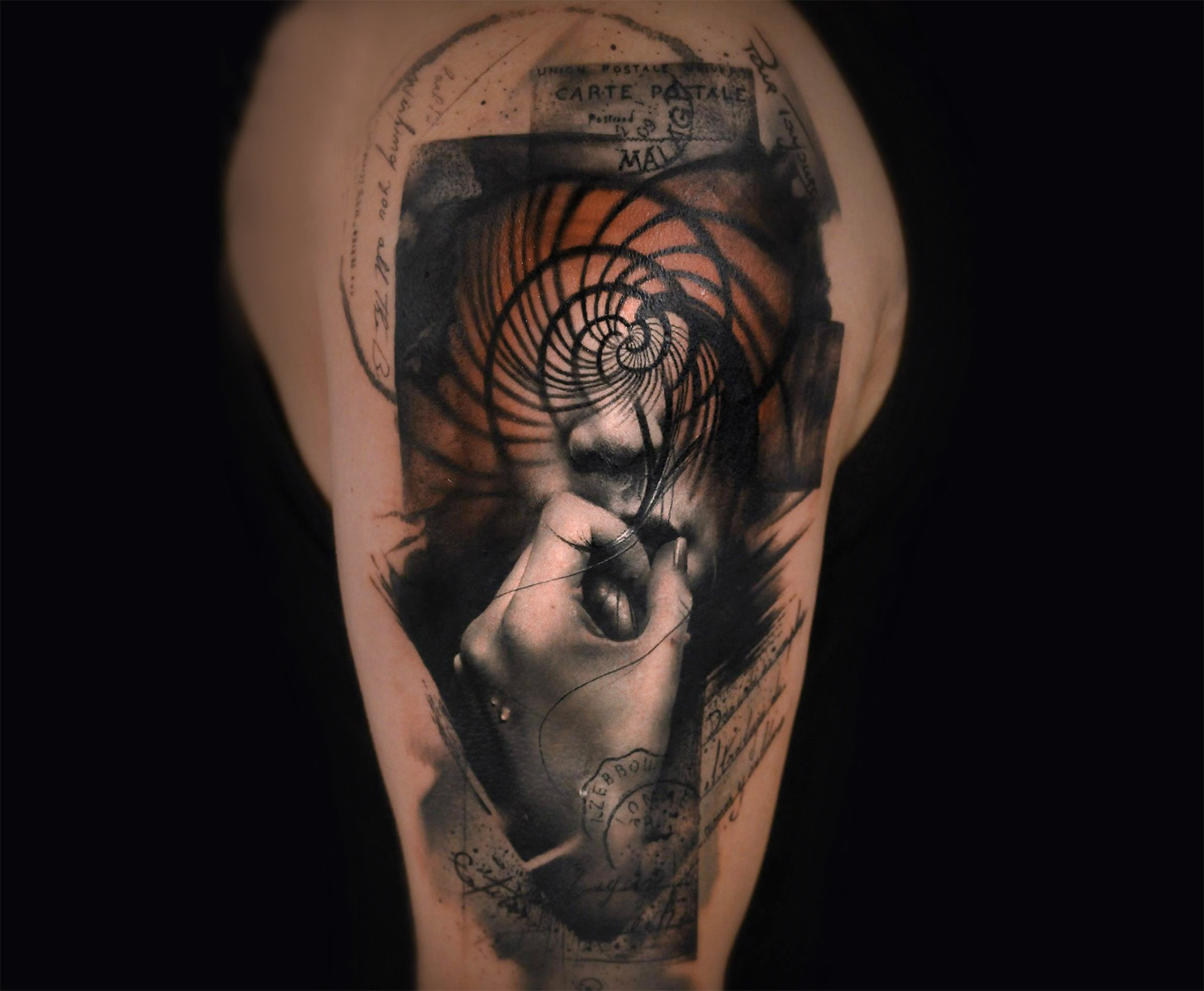 thomas carli jarlier double exposure tattoo