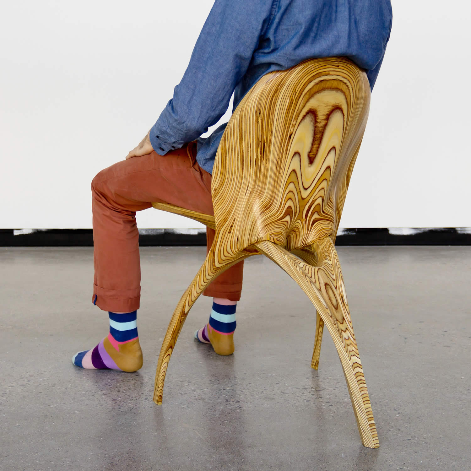 Folding Chair by Ammar Kalo