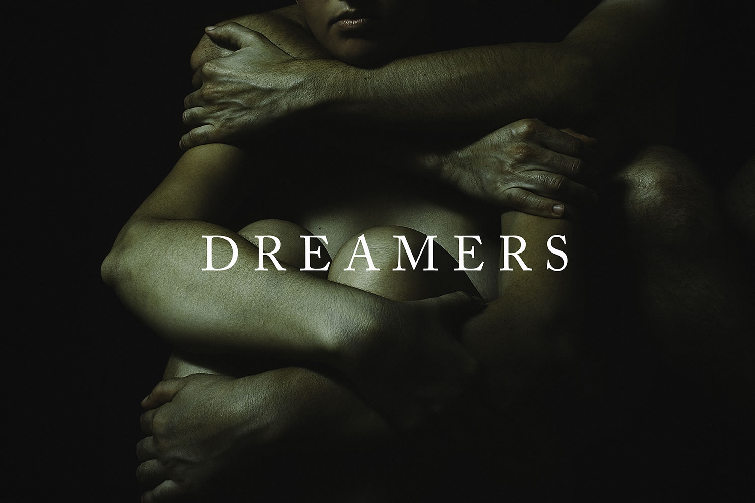 dreamers, romantic couple photo, dark style by Aitor Frías & Cecilia Jiménez