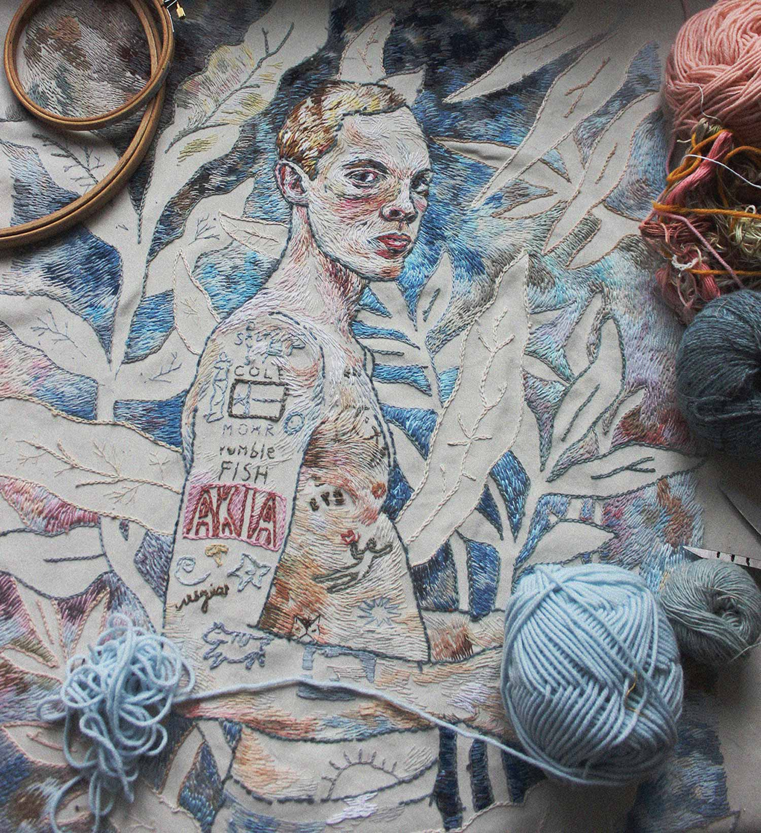 Embroidery by Lisa Smirnova
