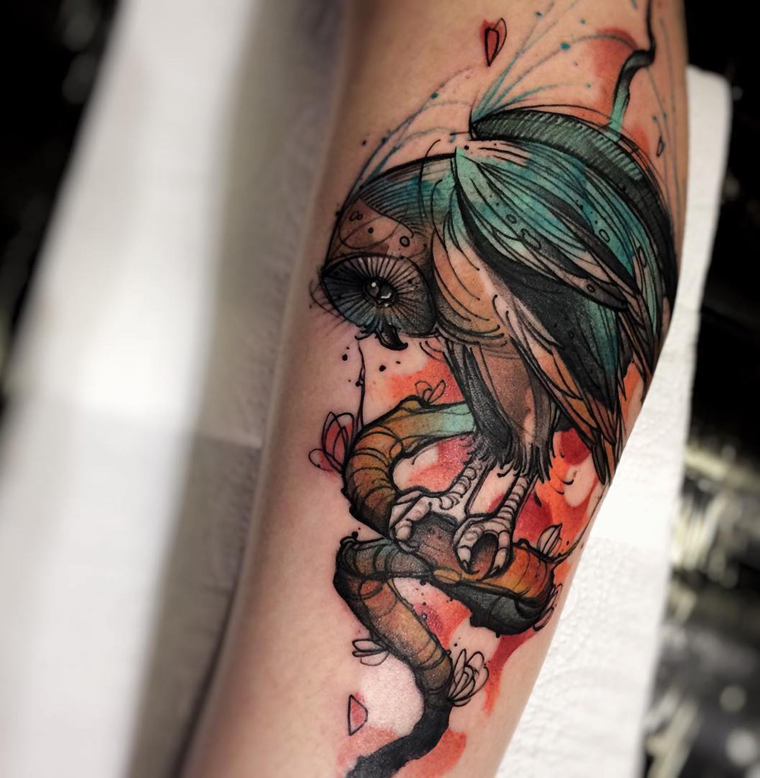 Tattoo by Felipe Rodrigues