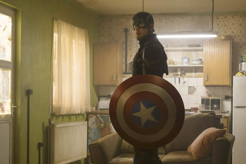 Chris Evans, Captain America: Civil War