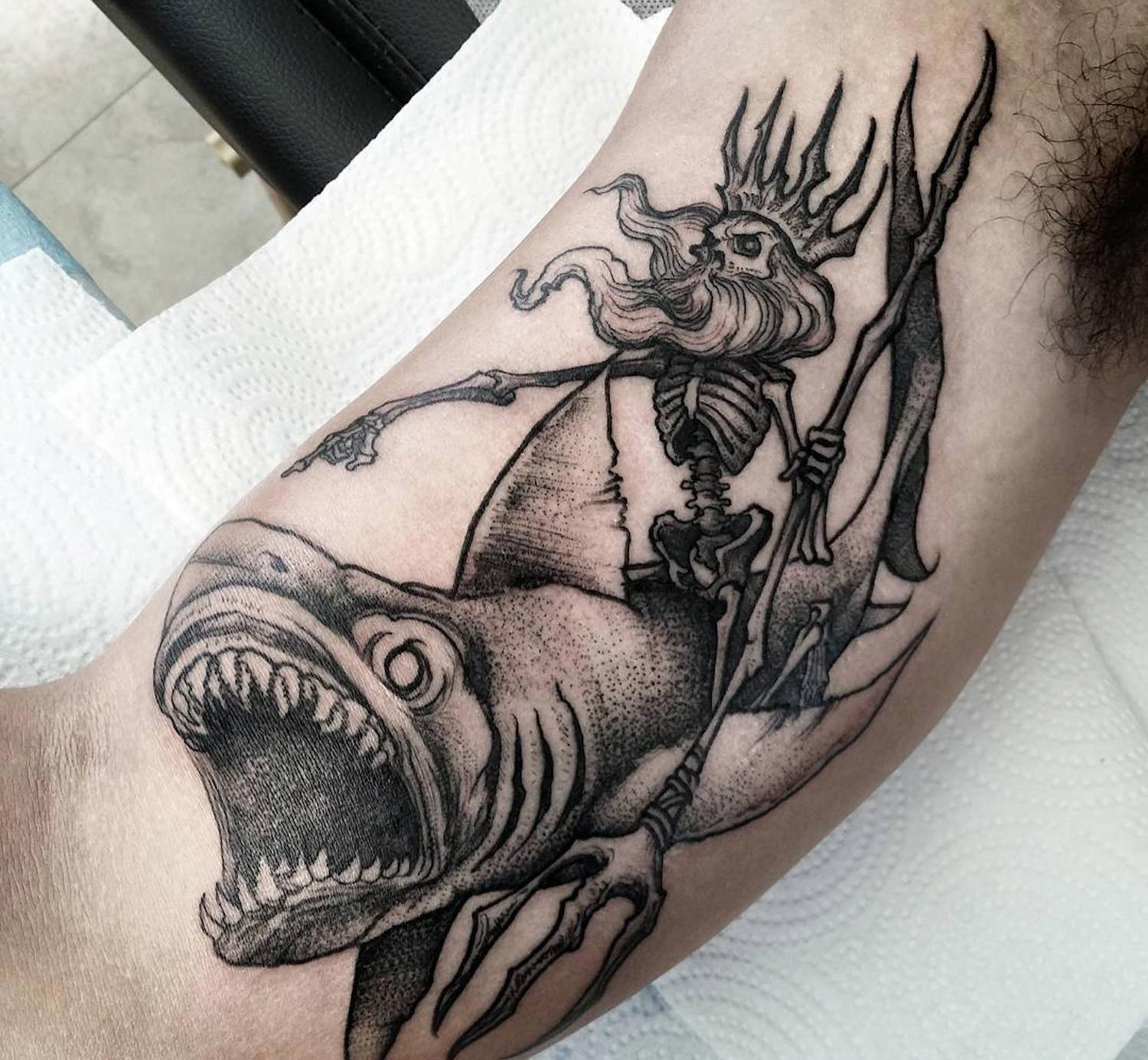 Tattoo by Phil Tworavens