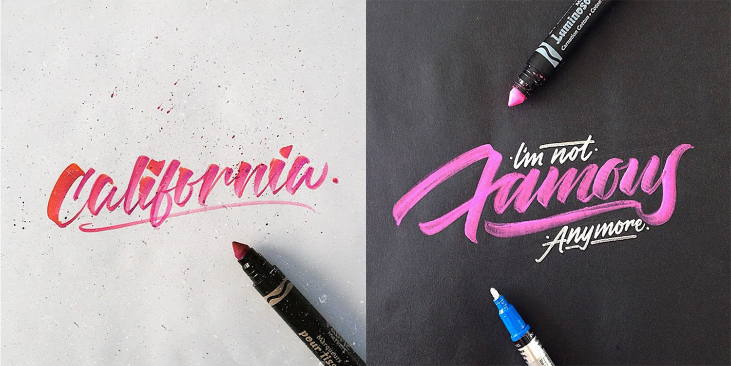 handwriting by David Milan