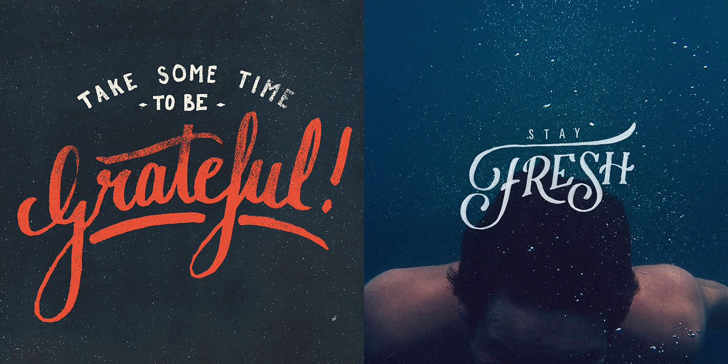 lettering by João Neves