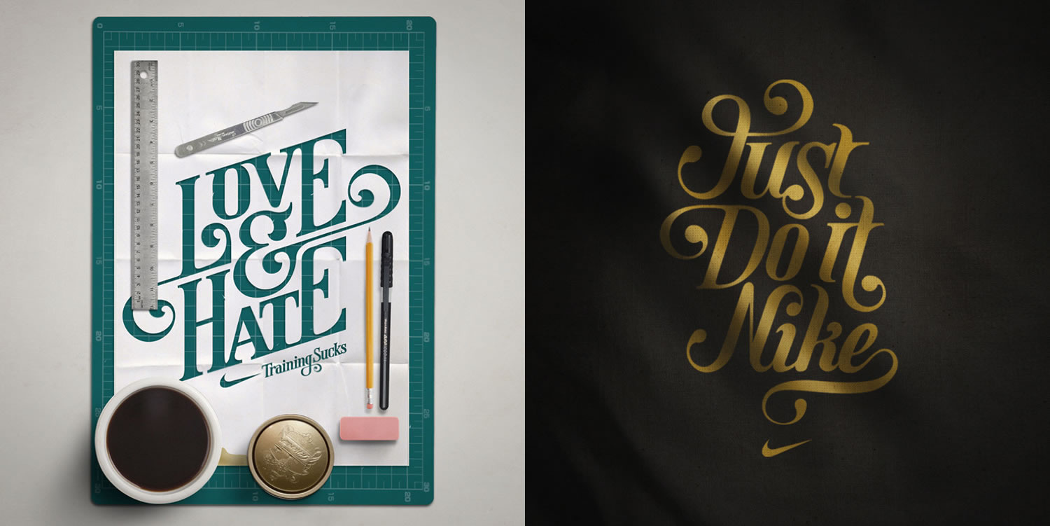 lettering by Mats Ottdal