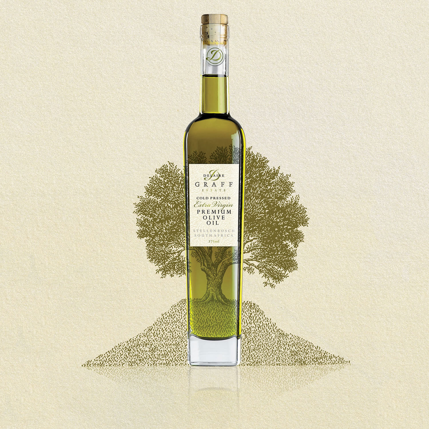 The Olive Tree Packaging for Olive Oil by Sumi Creative Co