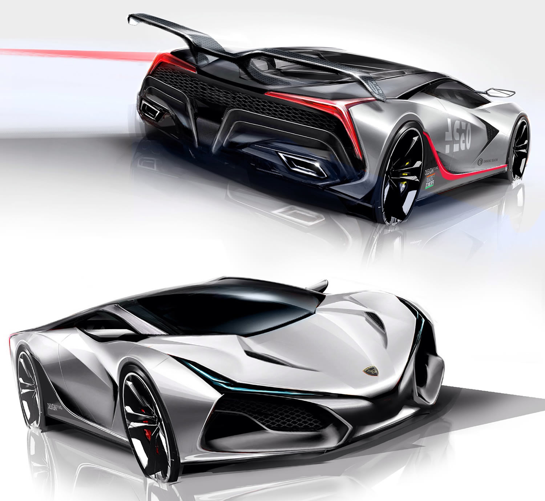 L.a. Vision Concept Aerodynamics and EV system by DAISUKE IGUCHI