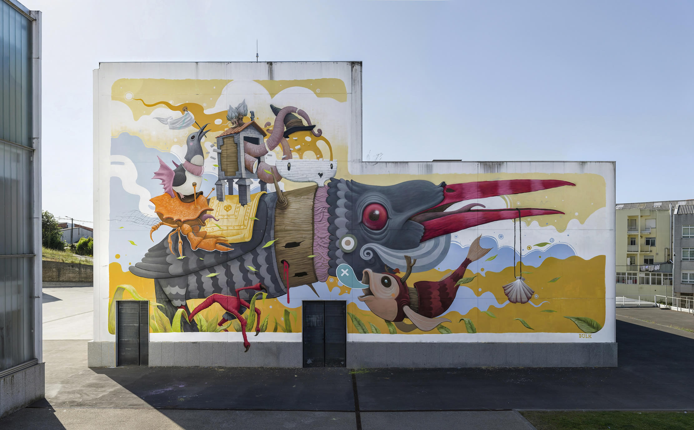 GIF Artist A. L. Crego Makes Graffiti Pieces Come to Life