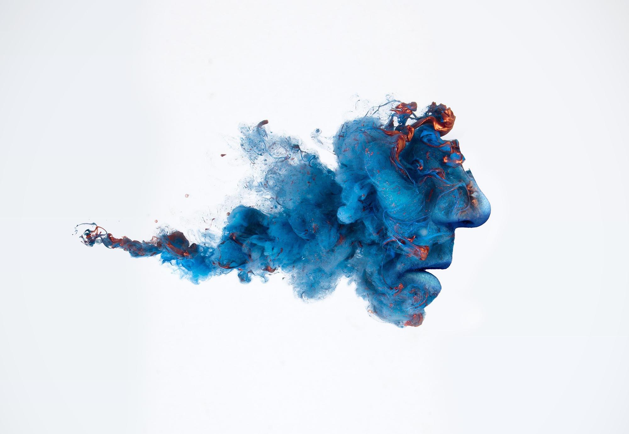 Cloud of ink