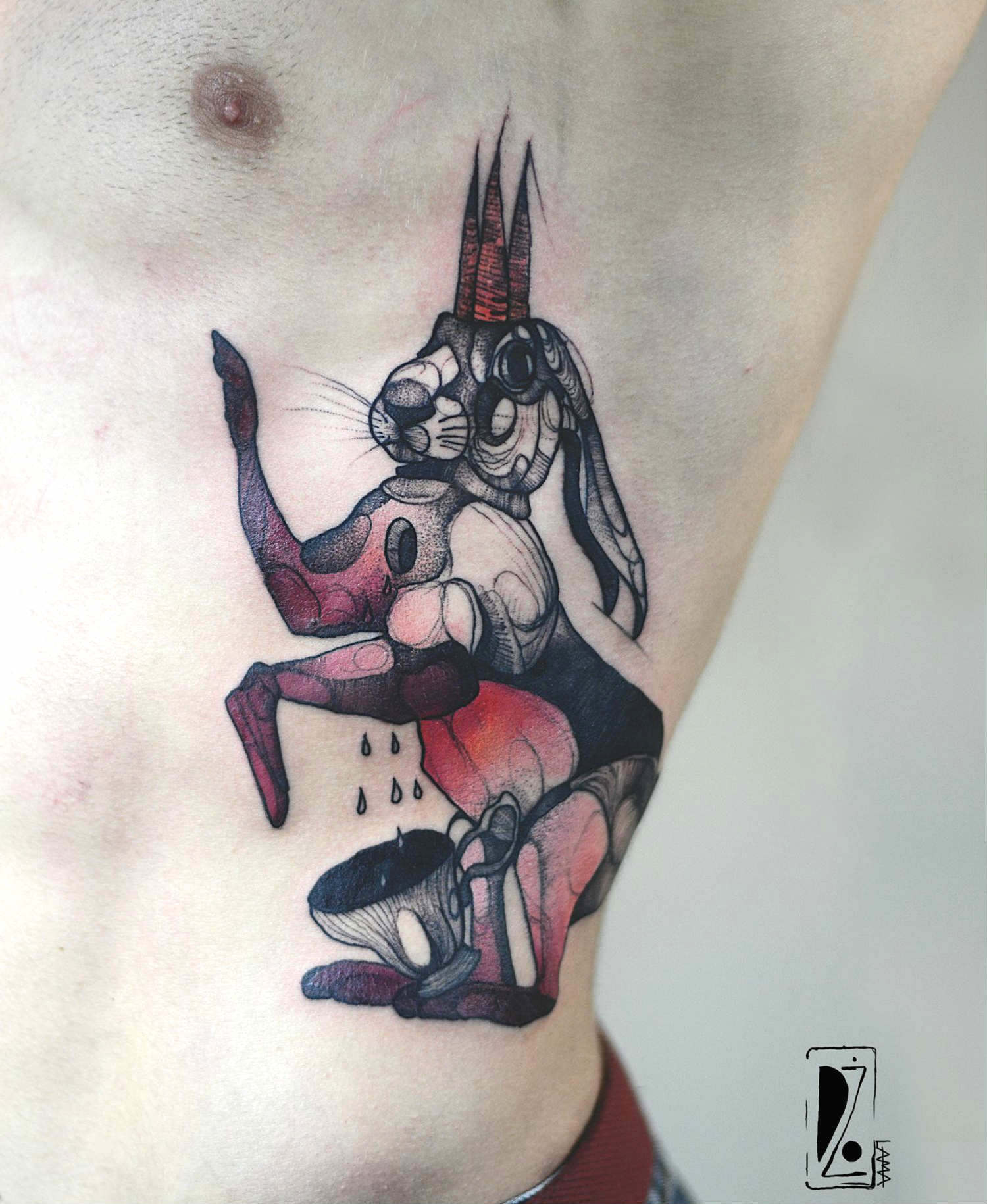 Joanna Swirska dzolama tattoo artist white rabbit tattoo