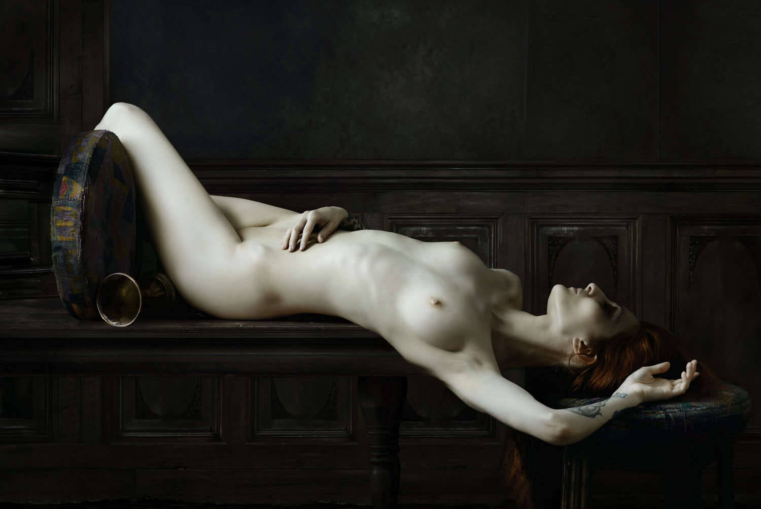 women's body,drifting series, photography by Olivier Valsecchi