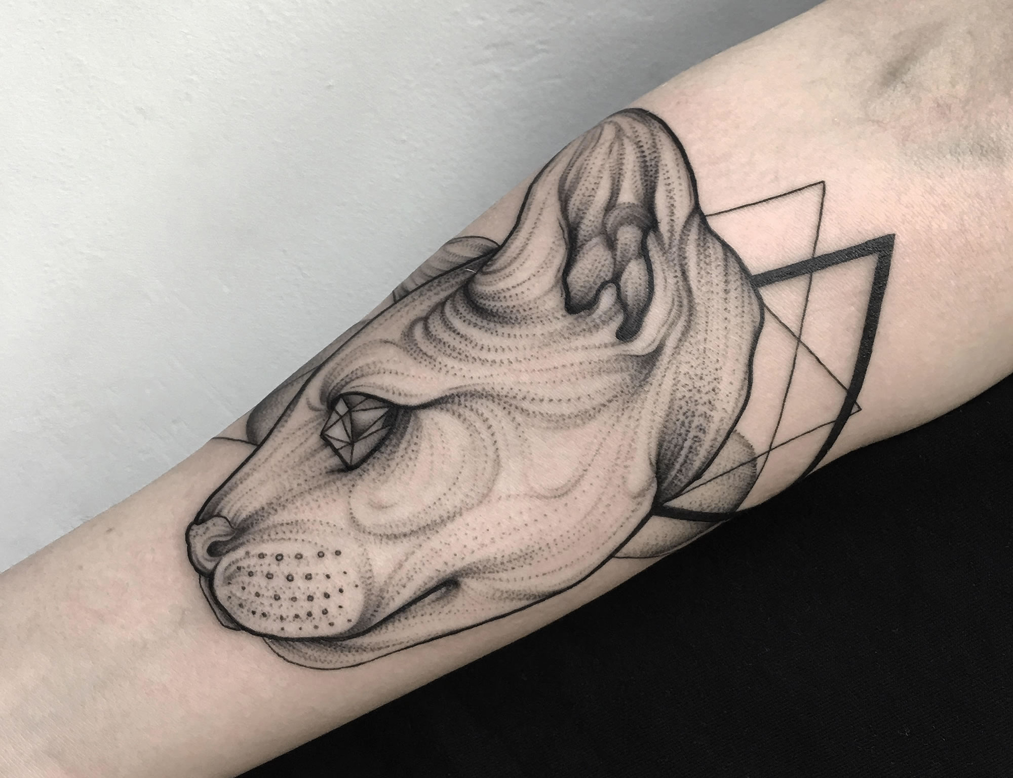 Foreboding Creature Tattoos are Modern Brothers Grimm
