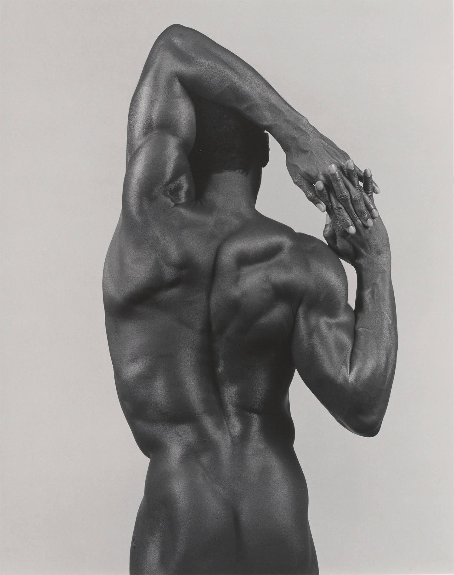 derrick cross, muscular man, photo © The Robert Mapplethorpe Foundation, Inc.