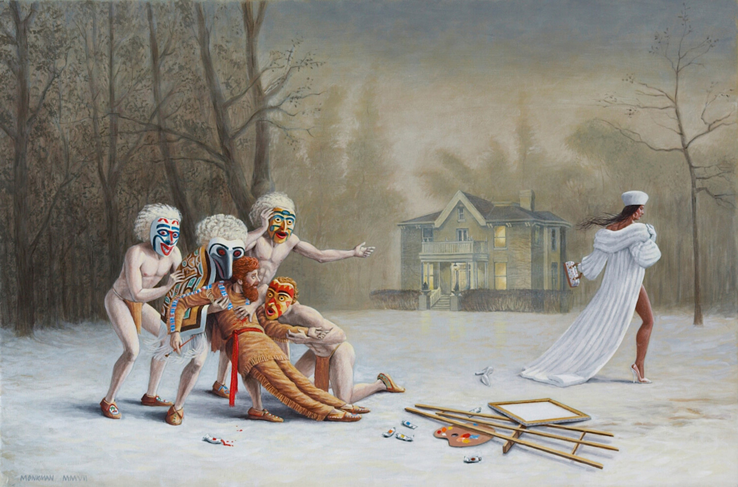 Kent Monkman, Duel After the Masquerade