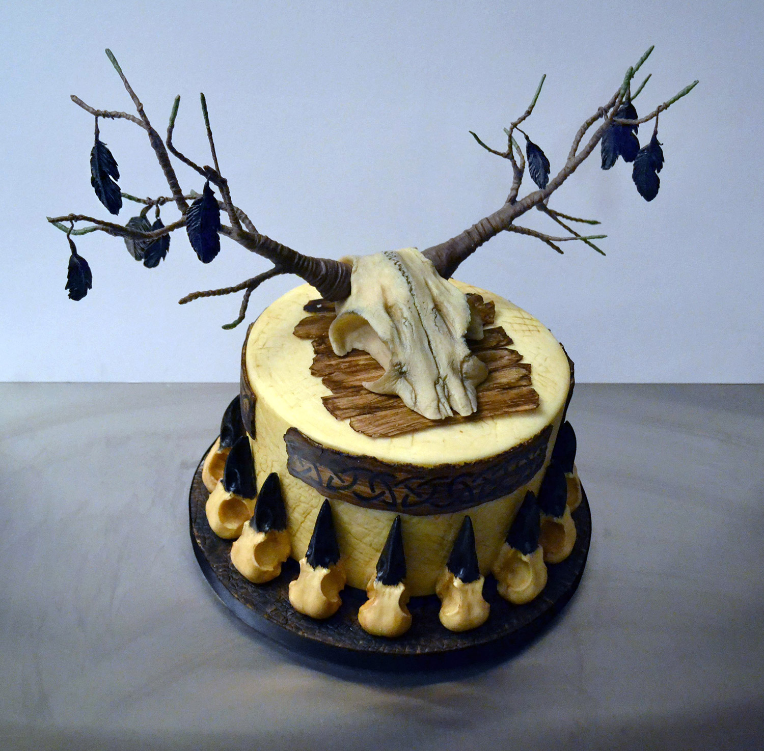 Annabel de Vetten, Conjurer's Kitchen - Viking cake