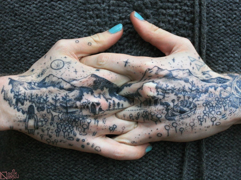 Noelle Longhaul Tattoo