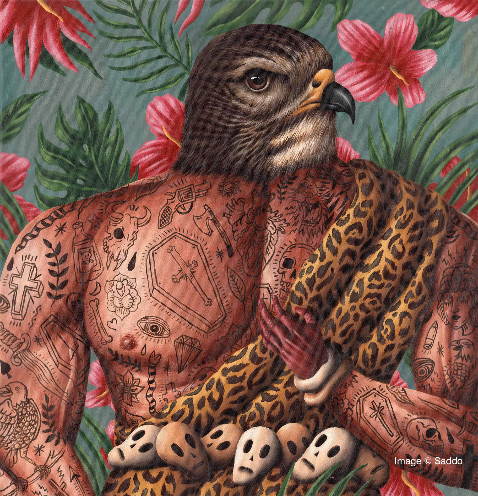 From Taboo to Mainstream: Tattoo Art in Illustration, Ceramics, and Embroidery