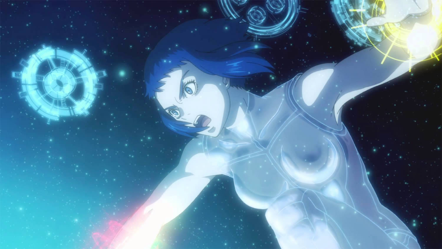 super powers, girl in space, Ghost in the Shell: New Movie