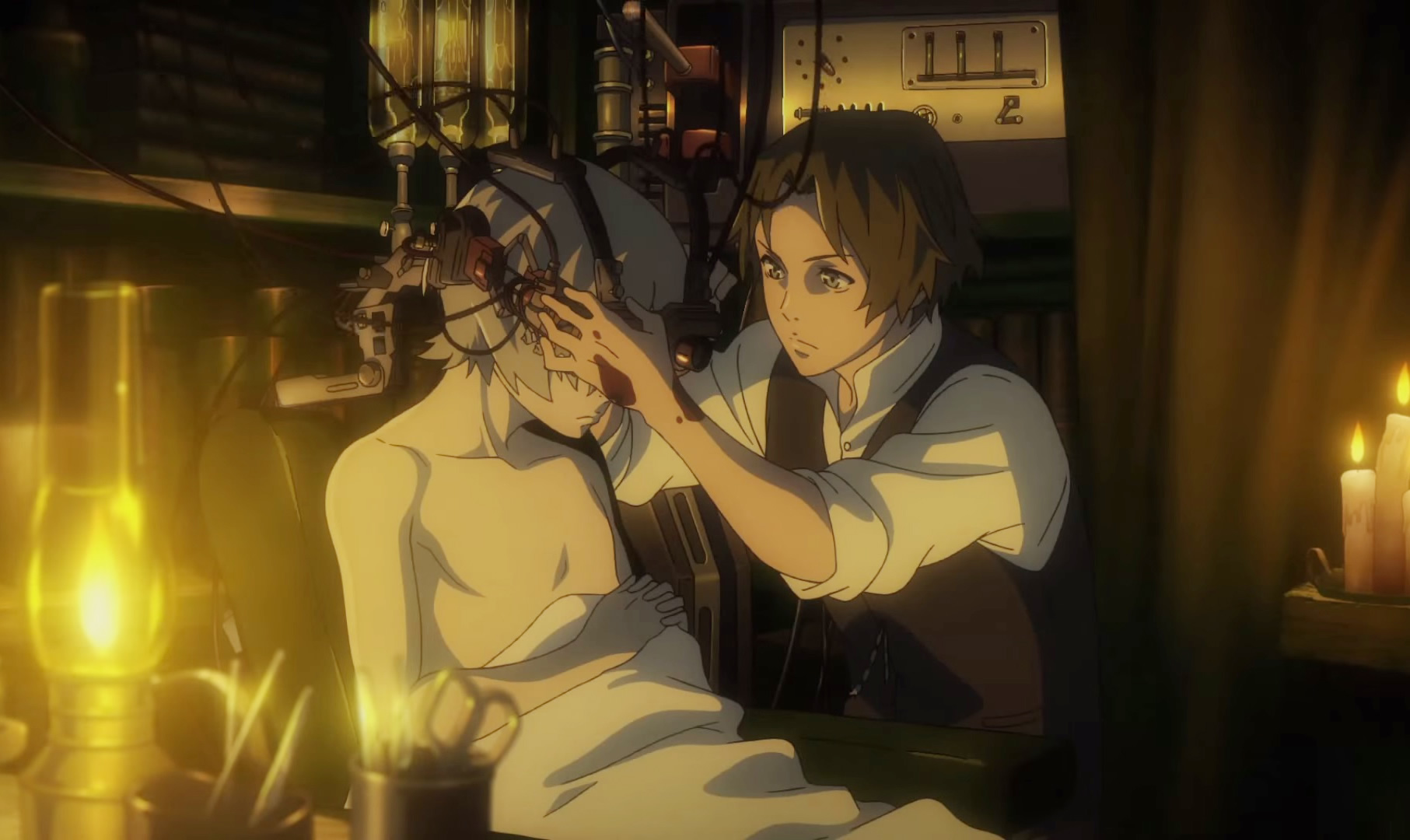 doctor treating patient in the The Empire of Corpses