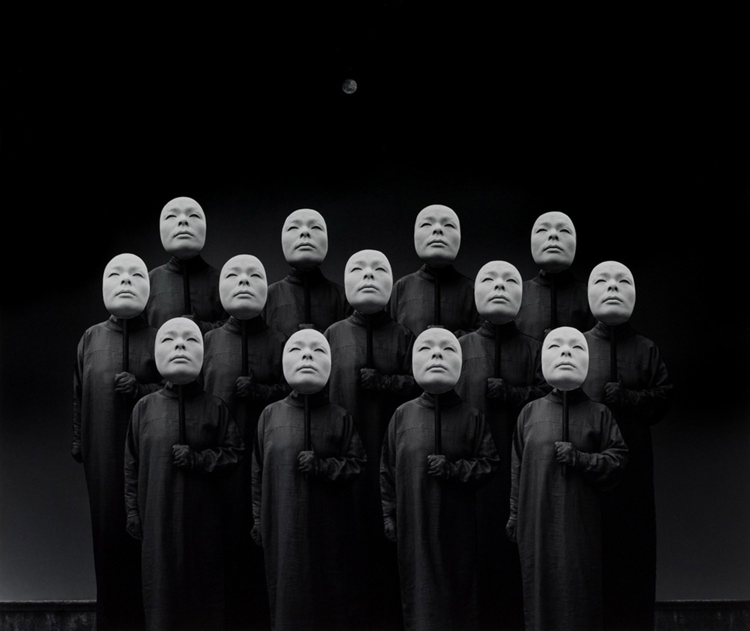 Misha Gordin - masked crowd