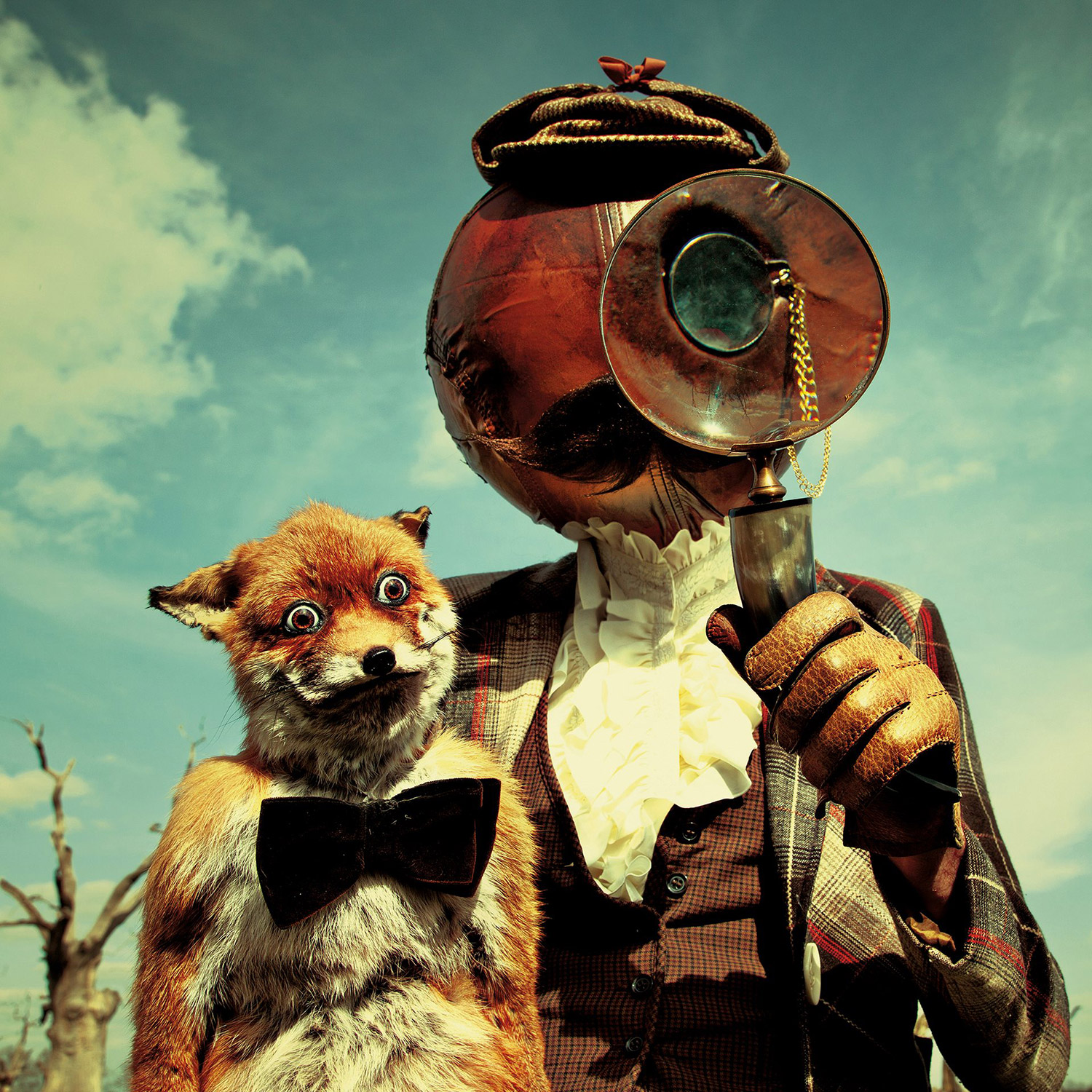 Mothmeister - figure with fox