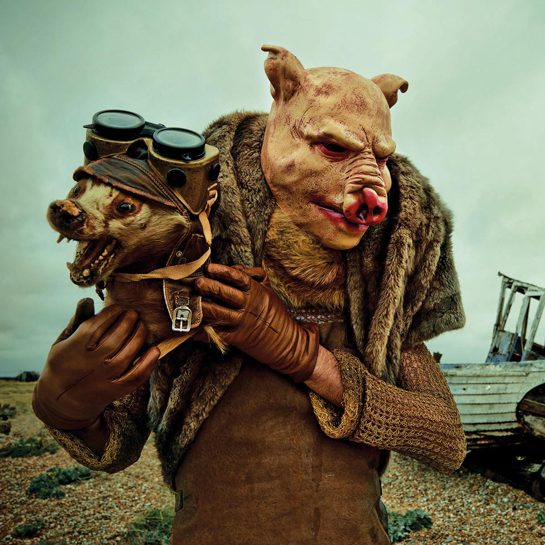 Mothmeister - humanoid pig
