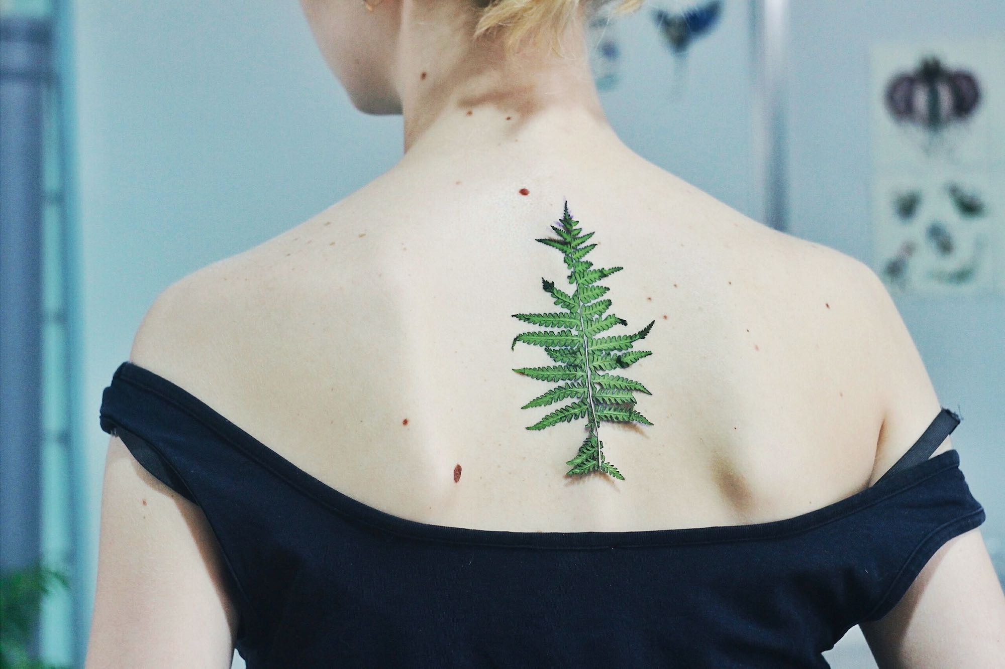 Live Leaf Tattoos by Rit Kit