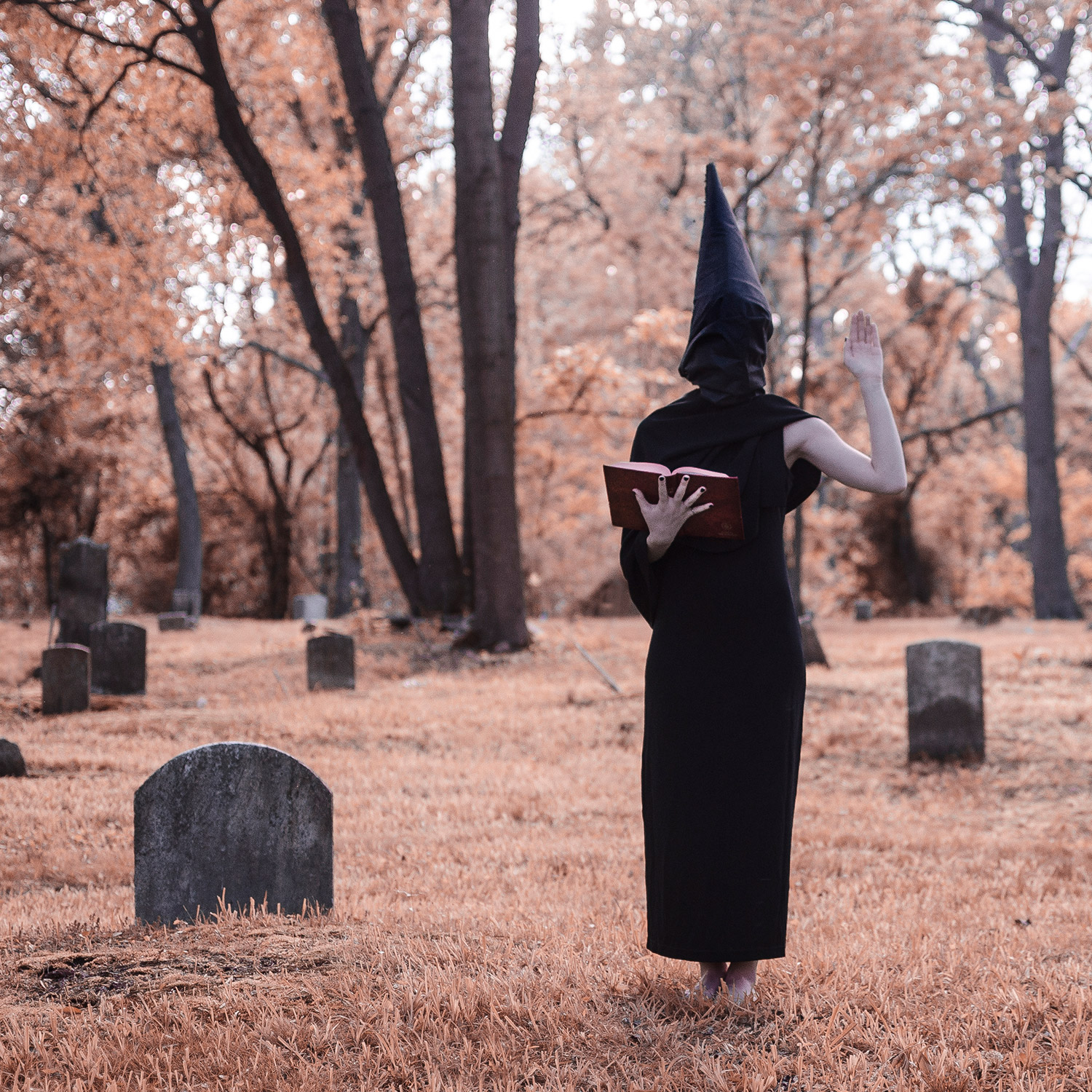 Christopher McKenney - witch in cemetary