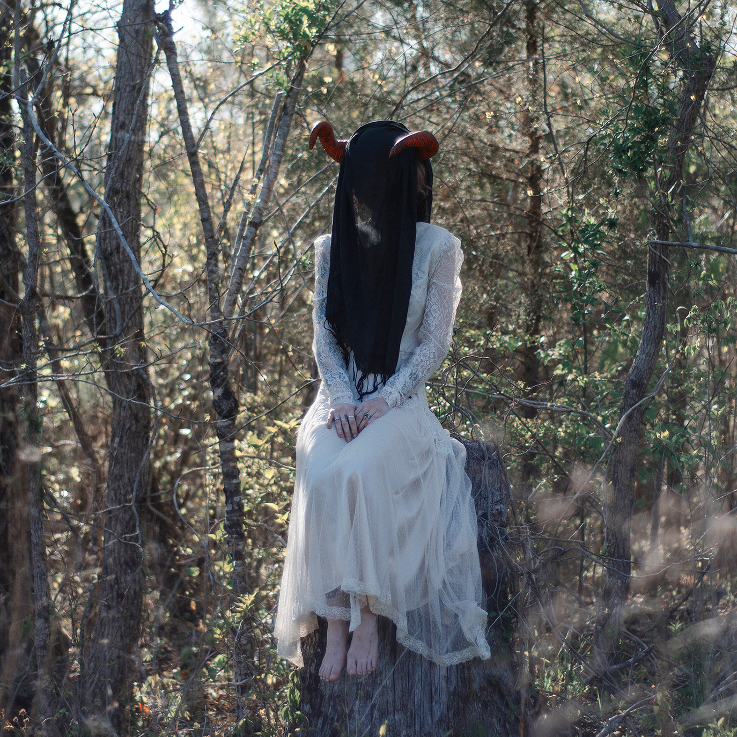 Christopher McKenney - horned figure in forest