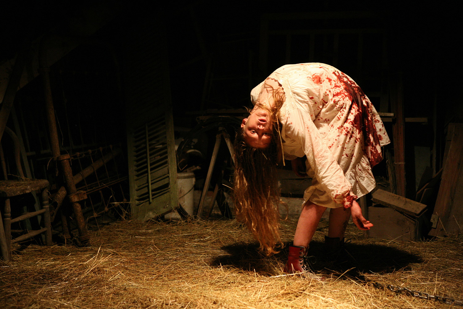The Last Exorcism - contortion