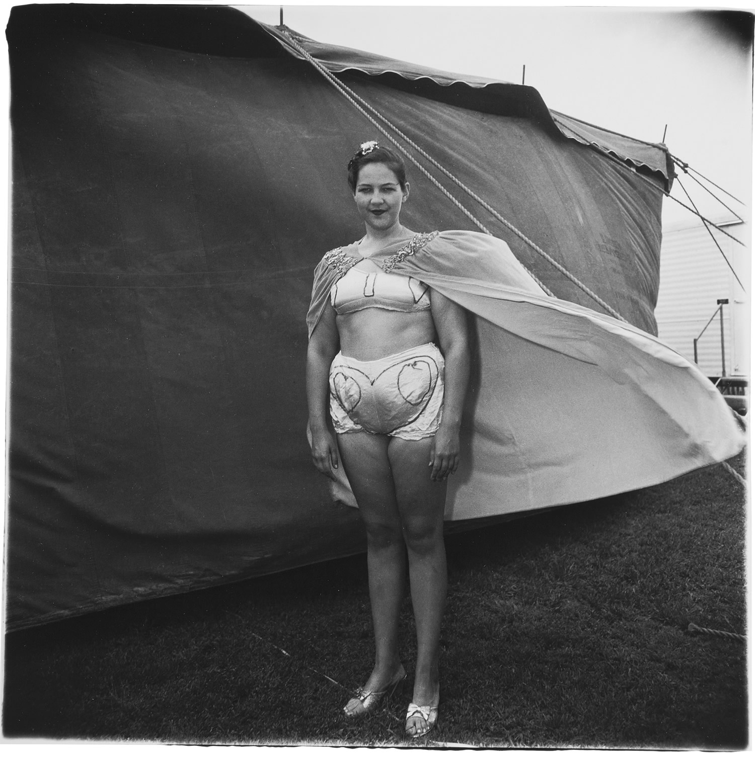 Girl in her Circus Costume, Maryland, 1970
