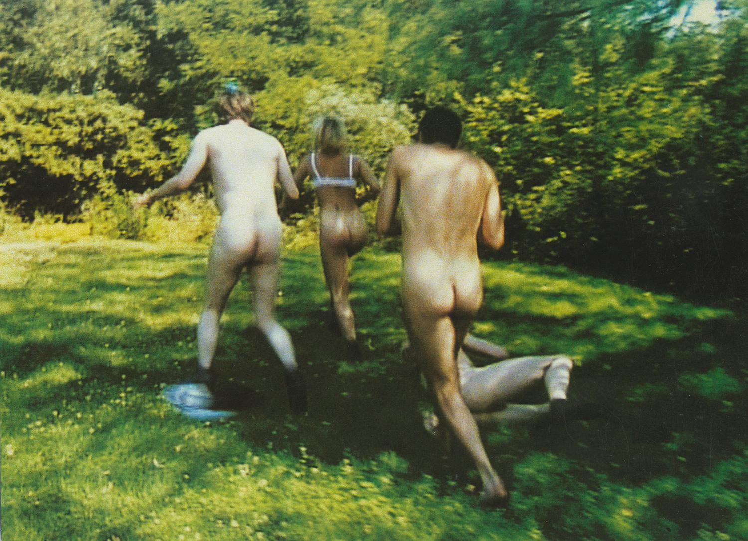 Erotic Art House Films, The Idiots - running nude