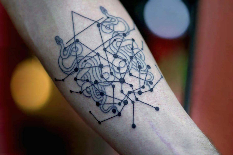 Mirko Sata Snake Tattoo