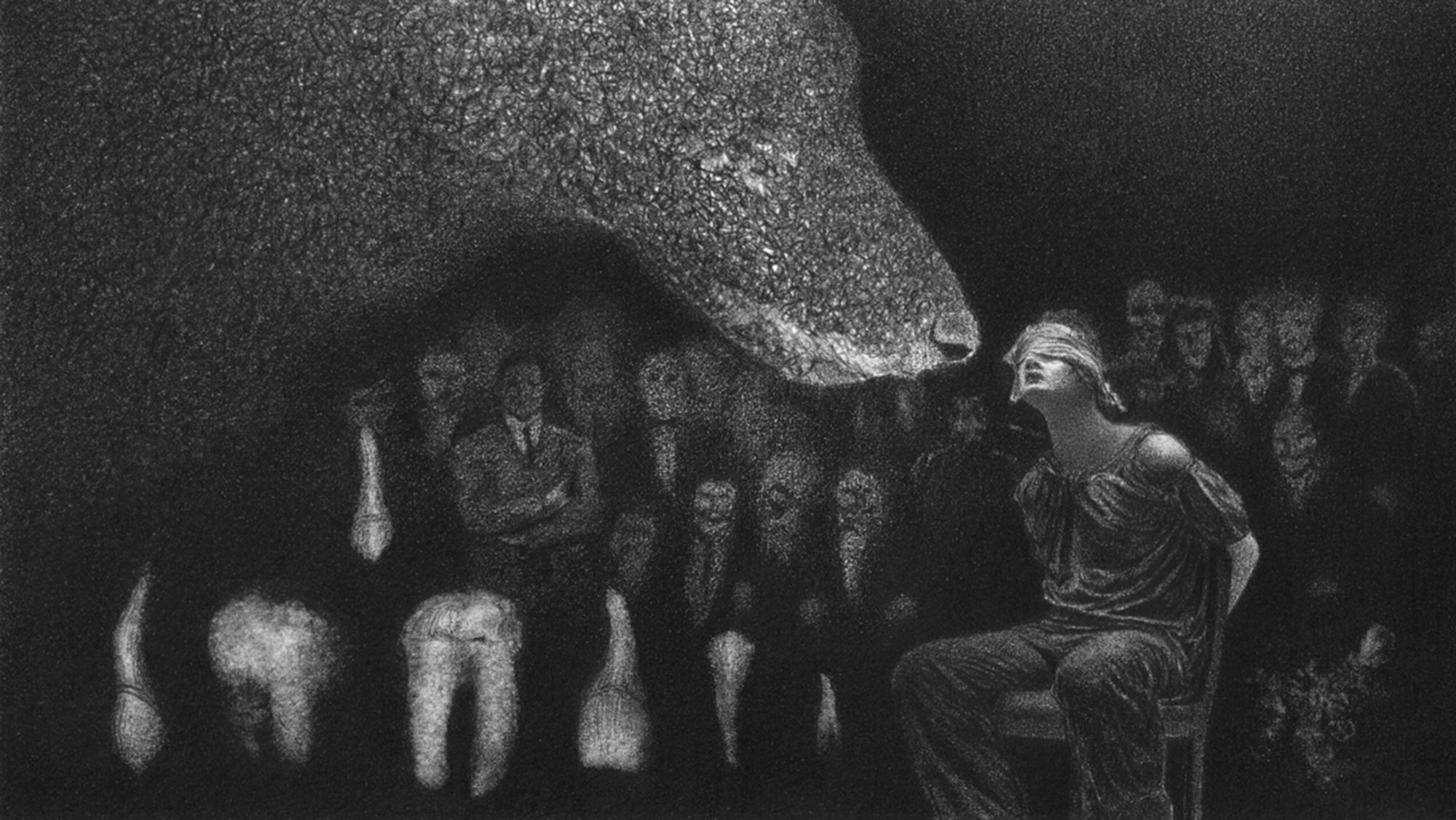 Surreal Graphite Drawings Meditate on the Nature of Pain