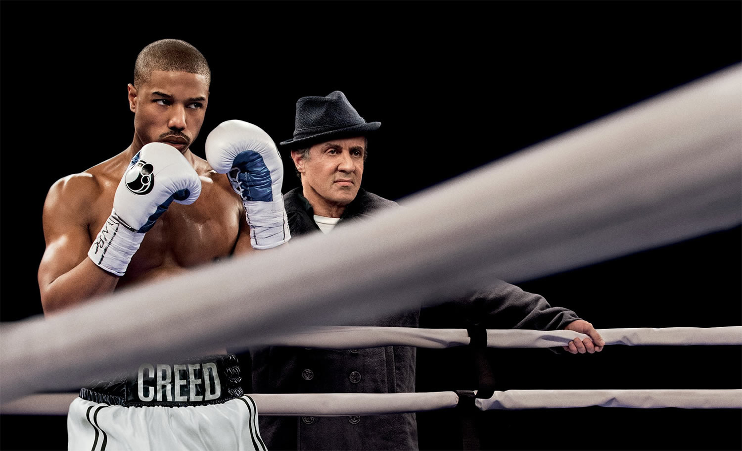 creed and rockie in movie creed