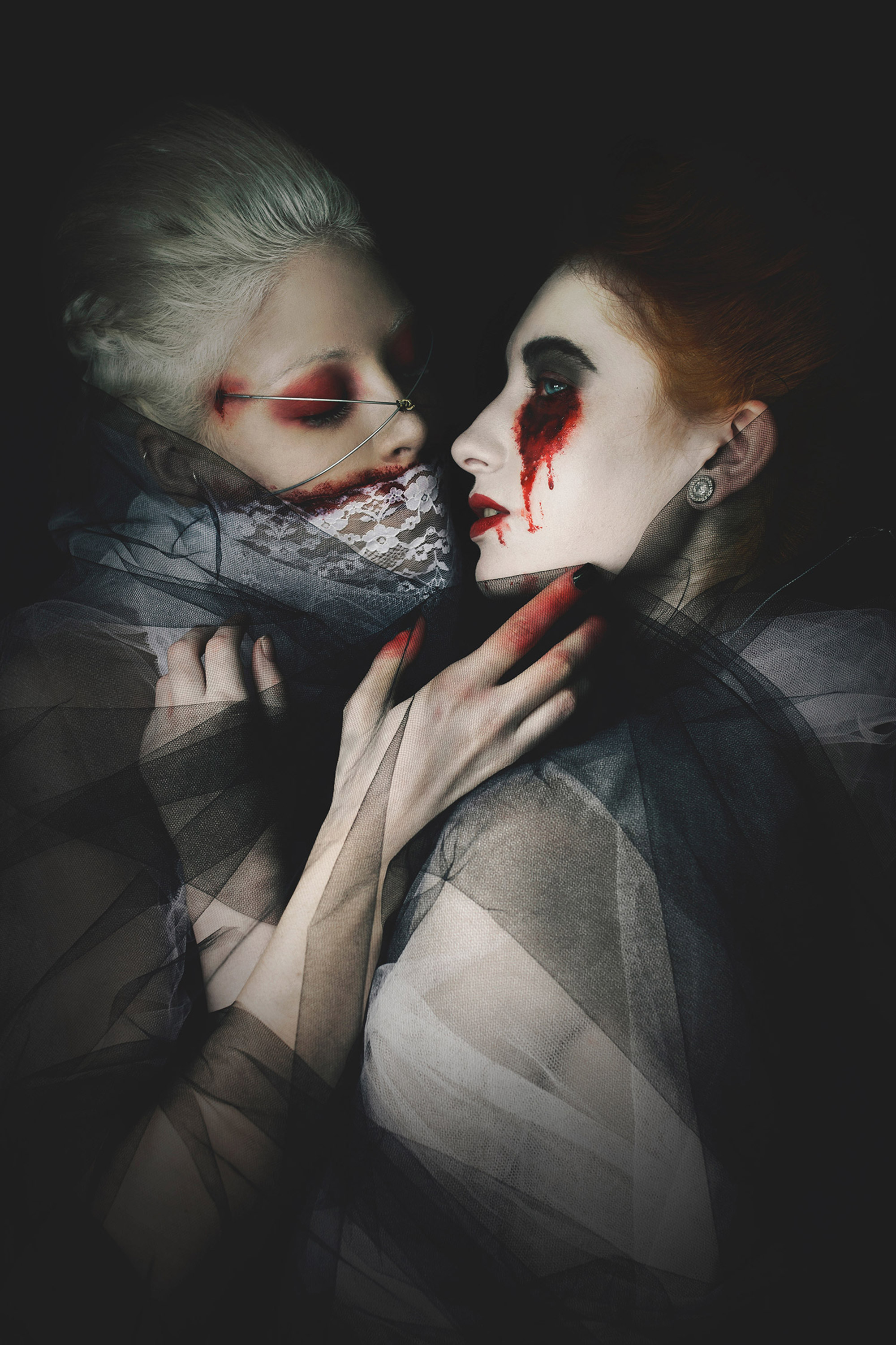 Danse Macabre: Darkly Romantic Portraiture by Eliza Kinchington