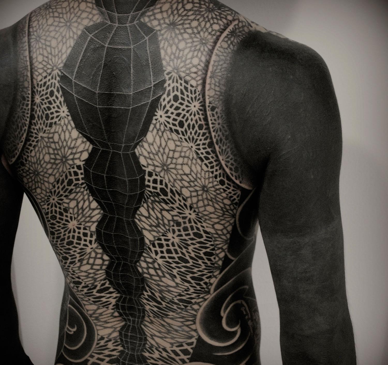 full body tattoo by gakkin and kenji