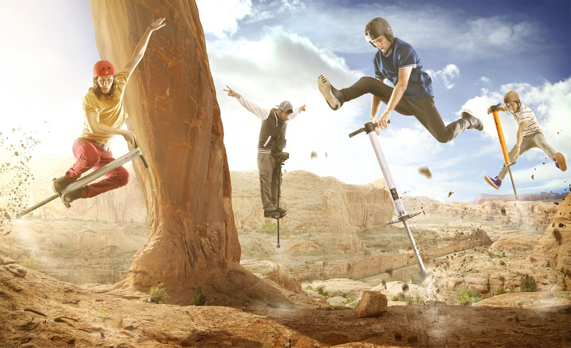 DevinSuperTramp: Capturing Extreme Pogo With the Help of LG