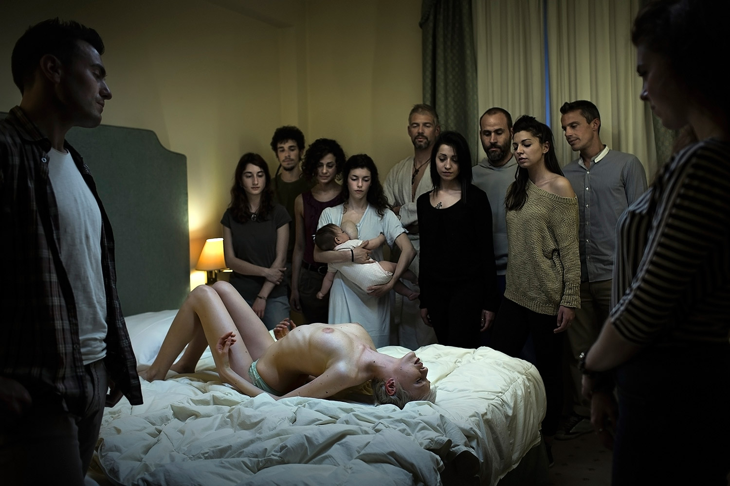 Marco Onofri, Followers - watching woman on back in bed