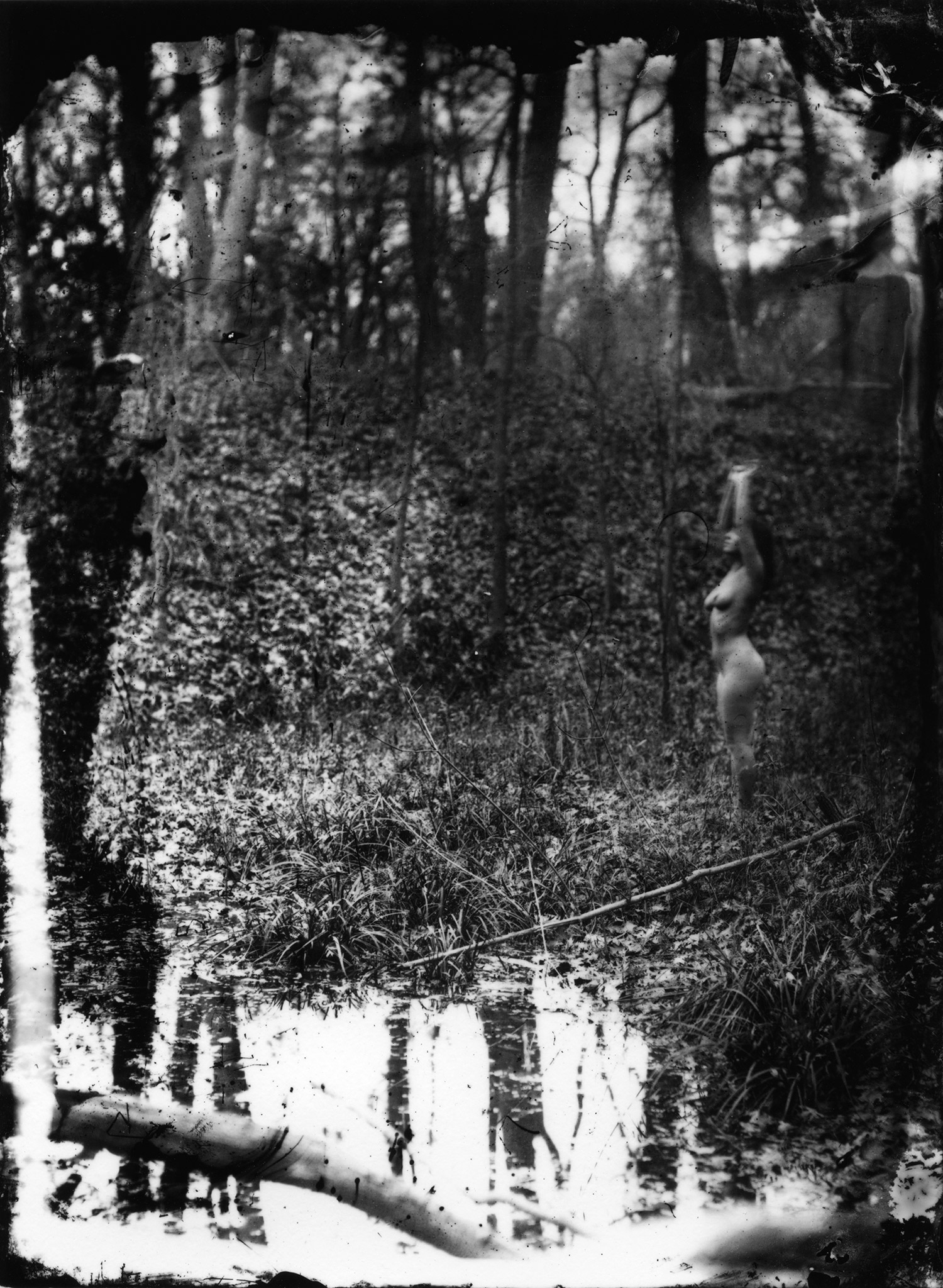 Rik Garrett, Earth Magic - spectral figure in forest