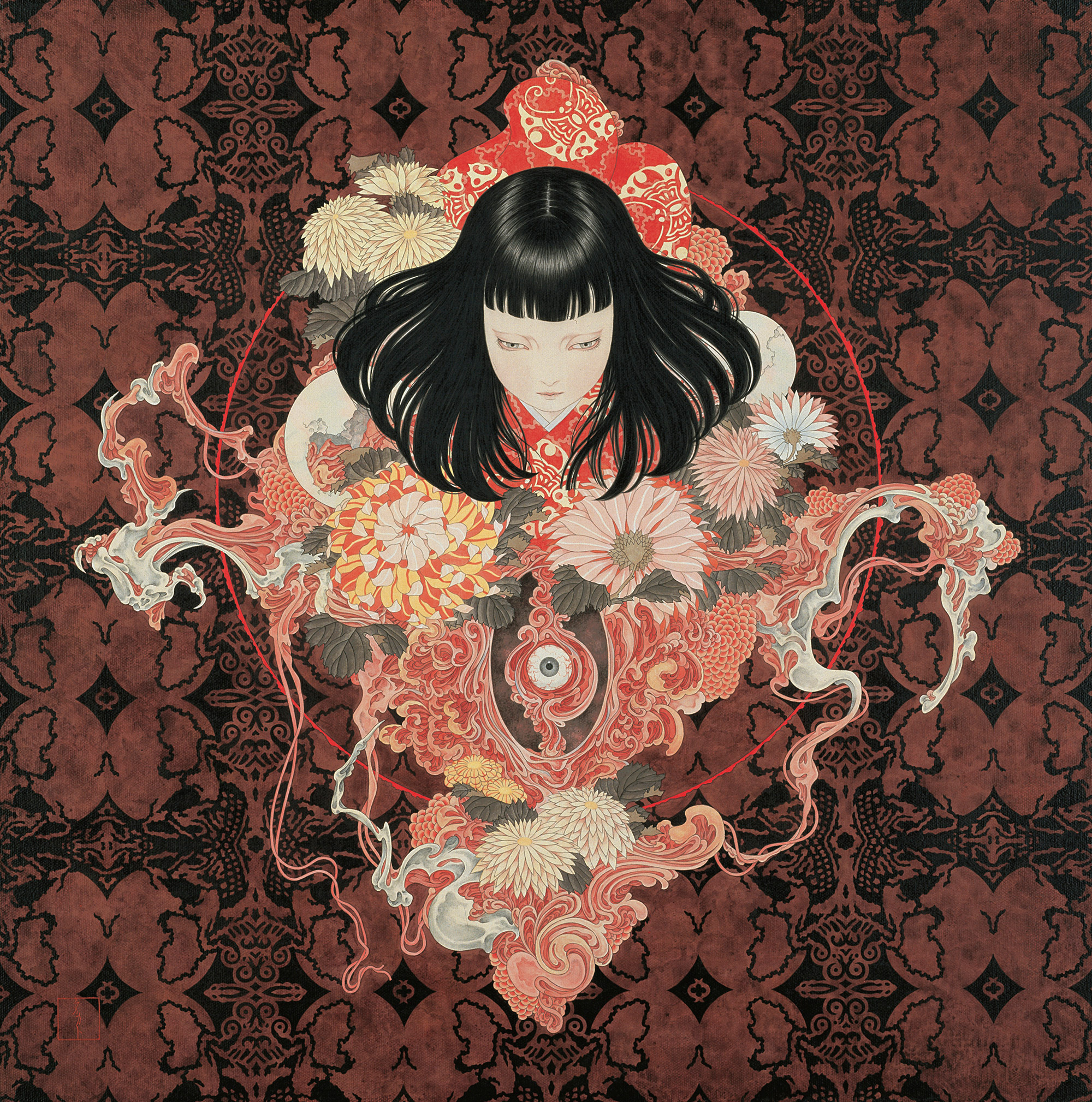 Death and Fantasy: Paintings by Takato Yamamoto