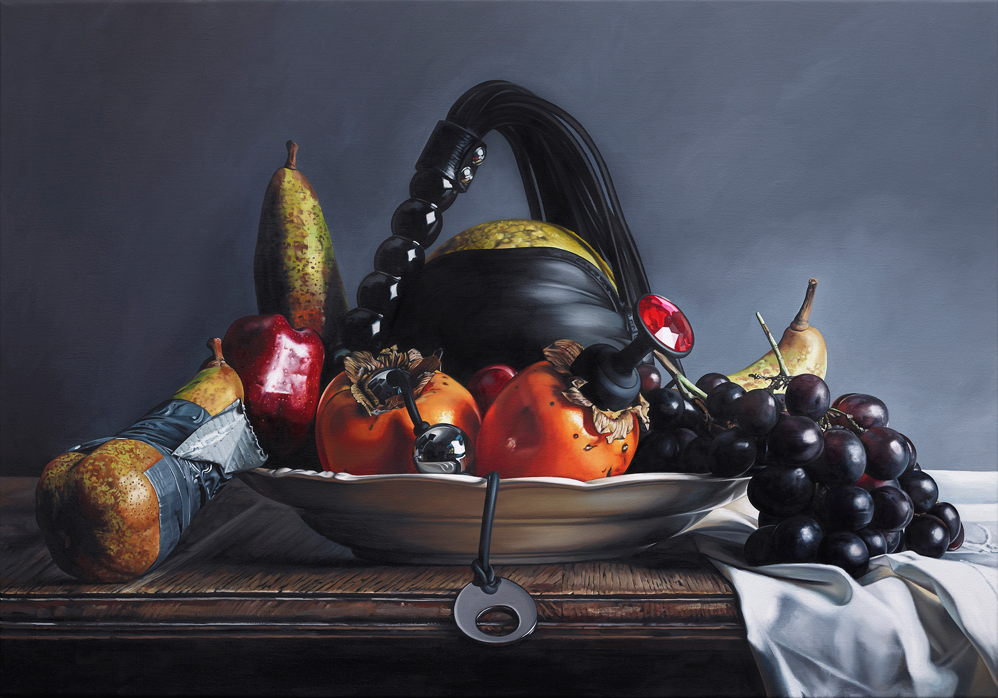 Till Rabus, paintings - Fetish Fruit