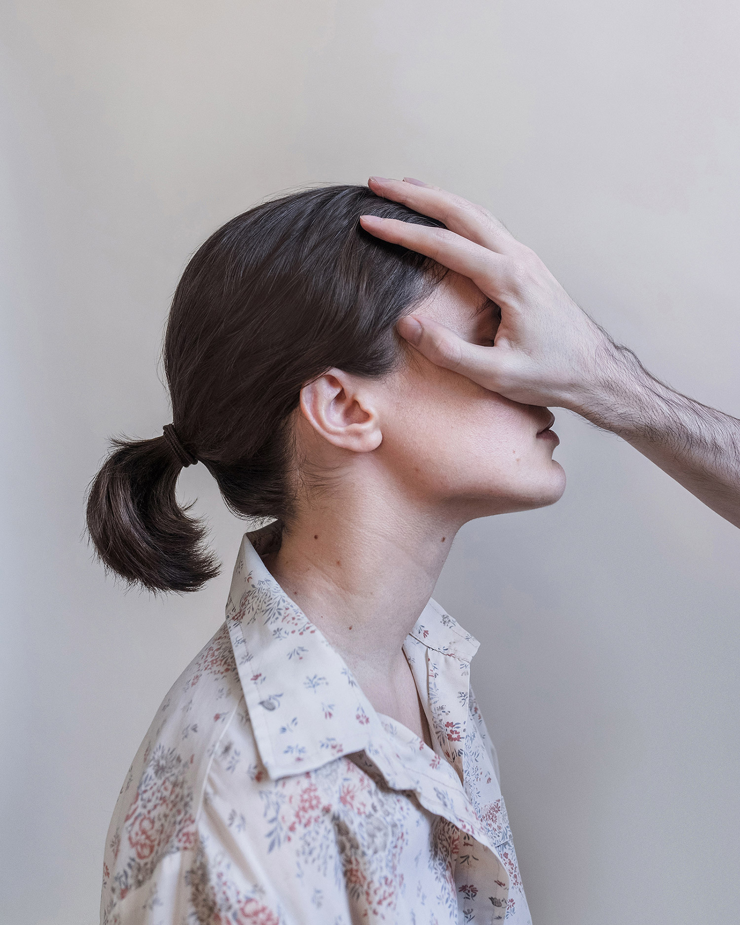 Brooke DiDonato - hand on face