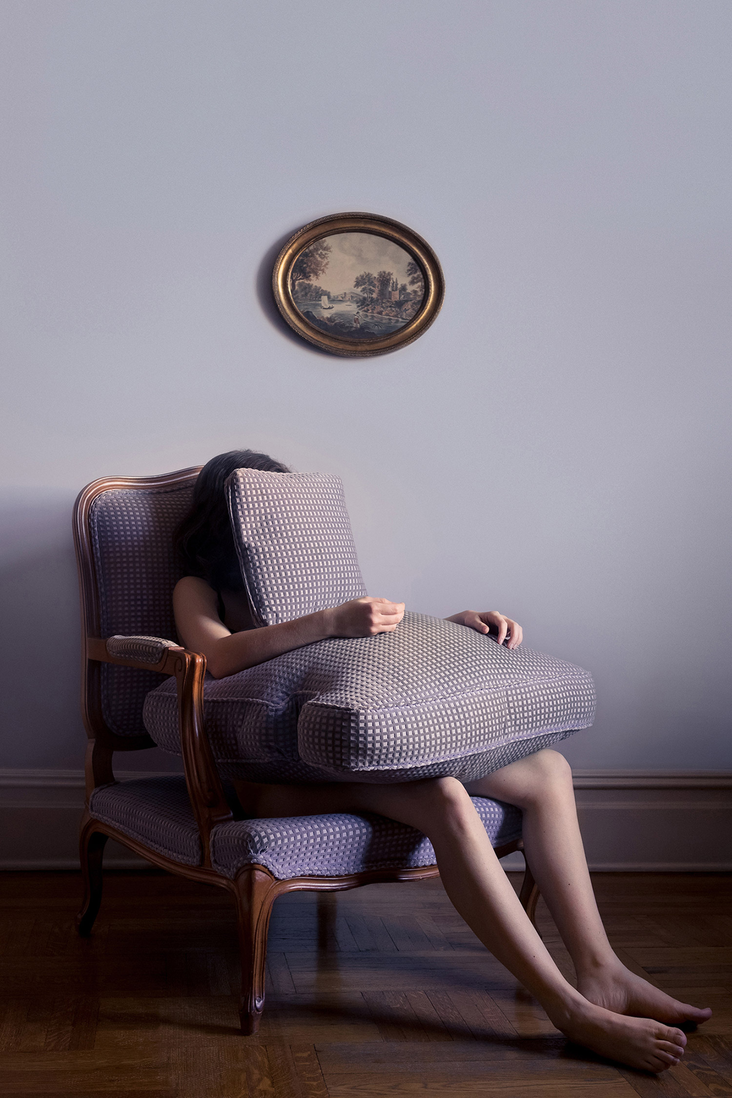 Brooke DiDonato, A House is not a Home - in couch cushions