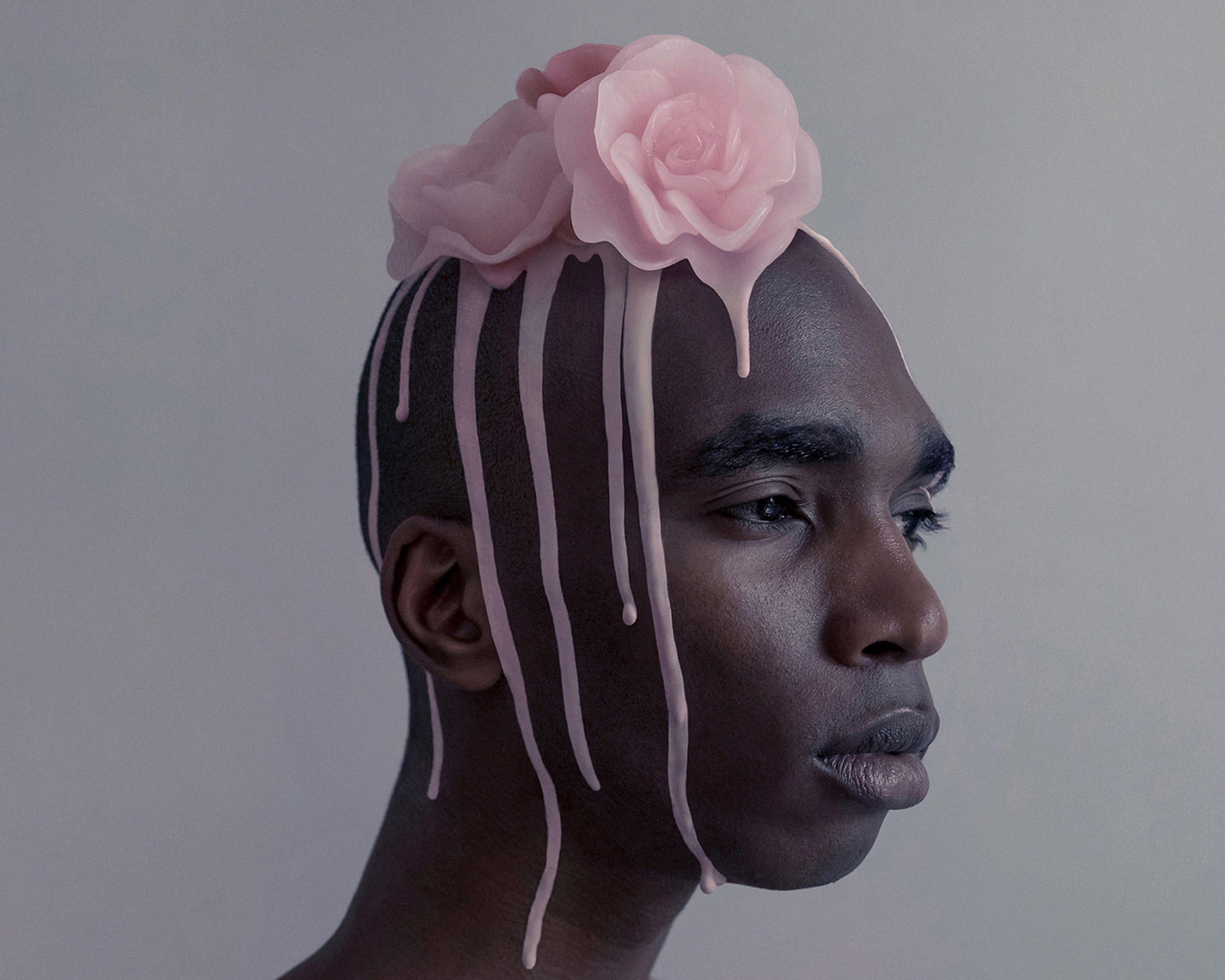 Brooke DiDonato, Roses - pink rose on head
