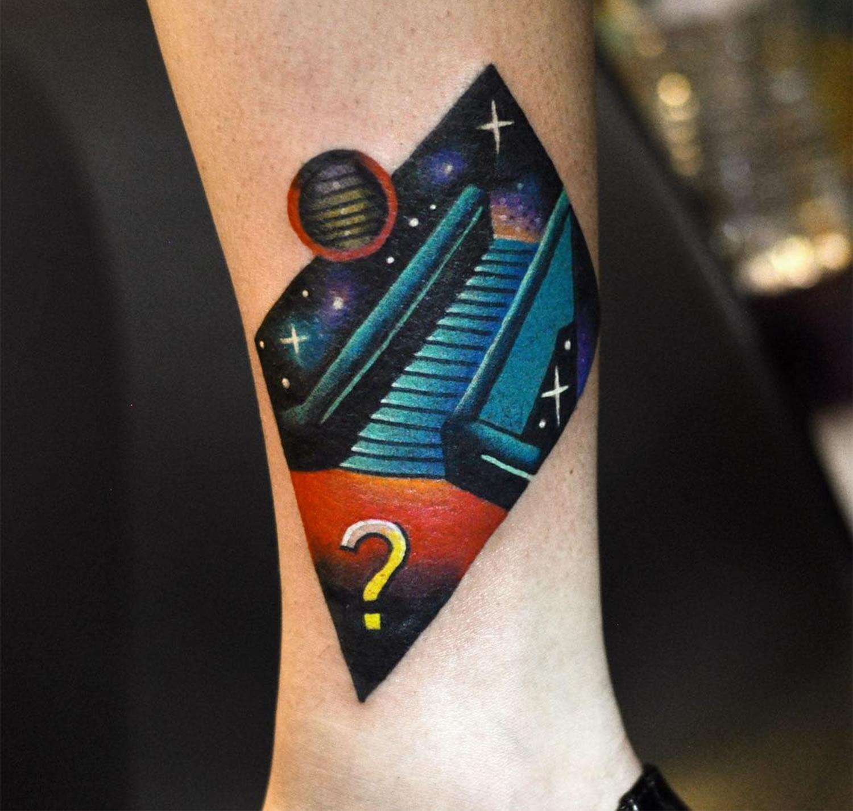 stairway tattoo